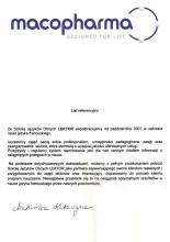 Referencje - Mocopharma