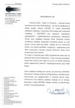 Referencje - Ośrodek Kultury i Sztuki
