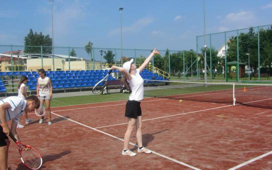 obóz tenisowy