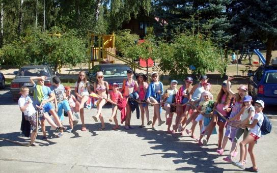 obóz nad jeziorem 2016